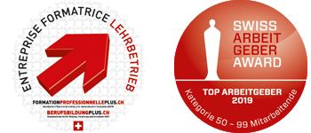 Lehrbetrieb - Swiss Arbeitgeber Award