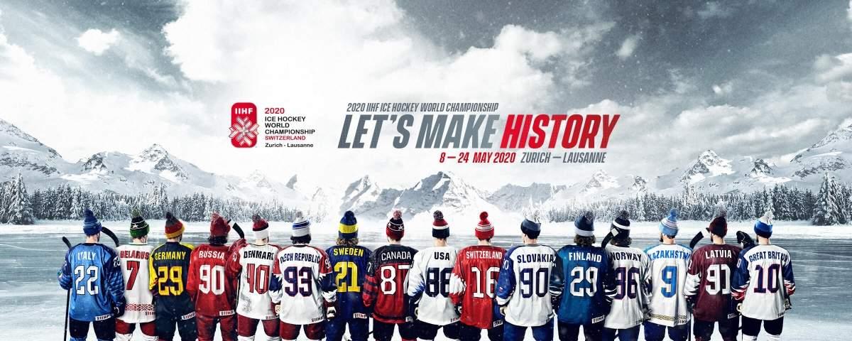 Ice Hockey At The 2020 Olympic Winter Games.2020 Iihf Ice Hockey World Championship Switzerland