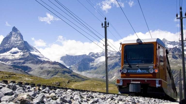 Gornergrat Zermatt Matterhorn Sommer