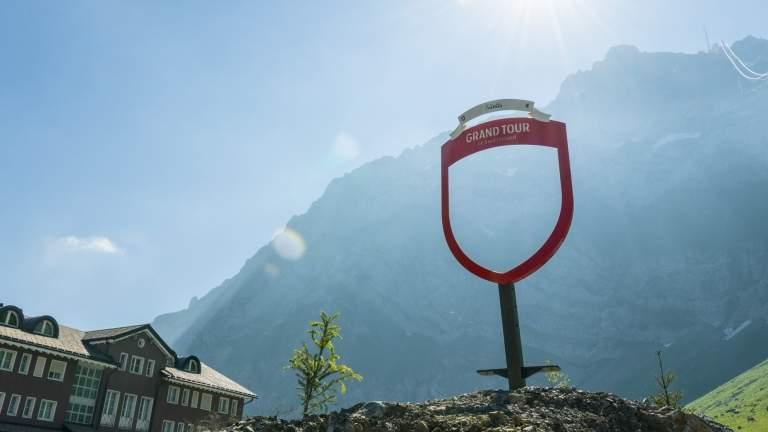 Der Grand Tour of Switzerland Fotospot auf der Schwägalp