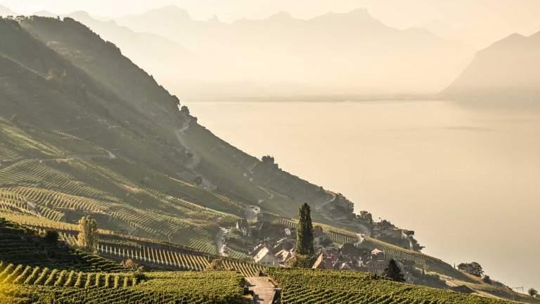 mit dem GoldenPass nach Montreux beim Genfersee