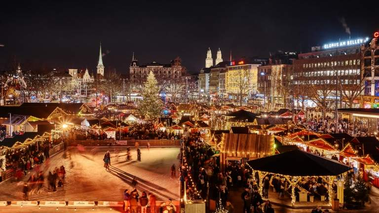 Zurich Weihnachtsdorf