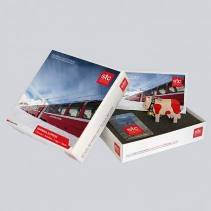 Geschenkbox Bernina Express
